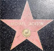 Sticker Déco Michael Jackson Étoile Hollywood