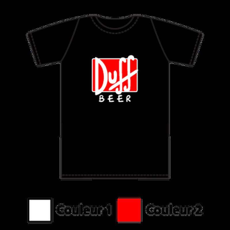 Duff Beer logo T-shirt