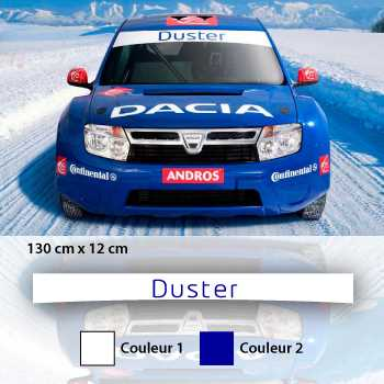 Dacia Duster Sport Sunstrip Sticker