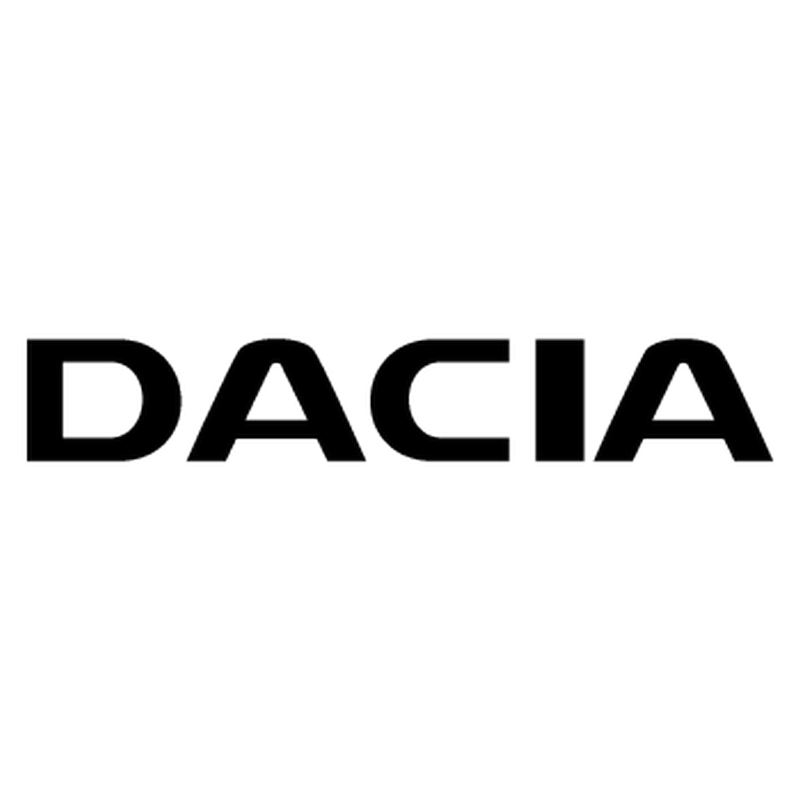 Dacia the name logo Decal
