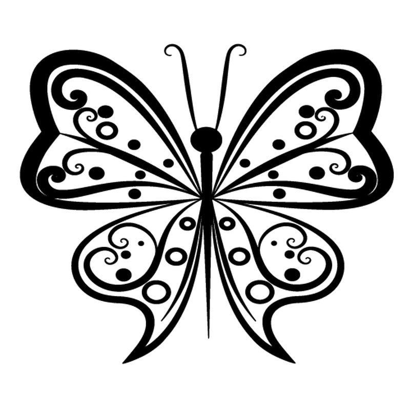 Design Butterfly decal