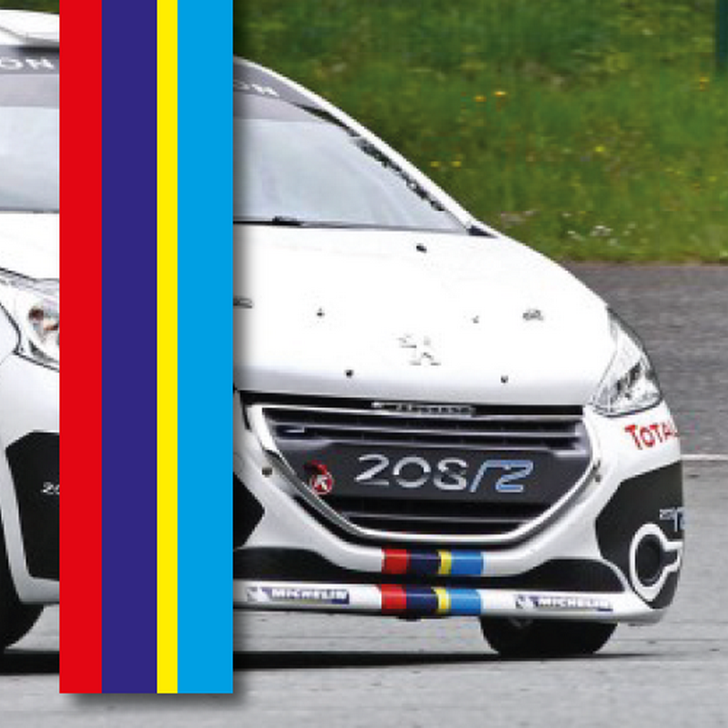 Peugeot Sport strip decal