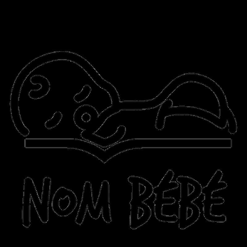 Sticker Baby An Bord Bébé Qui Dors Name Zum Personalisieren