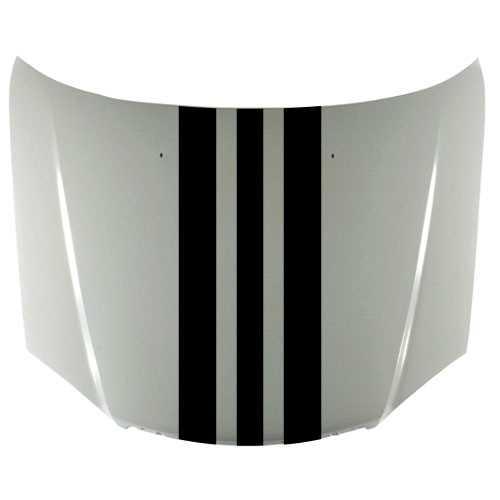 Stickers Capot Voiture : kit sticker bande capot porsche design 38 x 140 cm autocollant ~ Louise-bijoux.com Idées de Décoration
