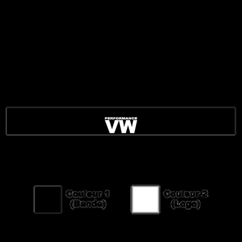 Volkswagen VW Performance Sunstrip Sticker
