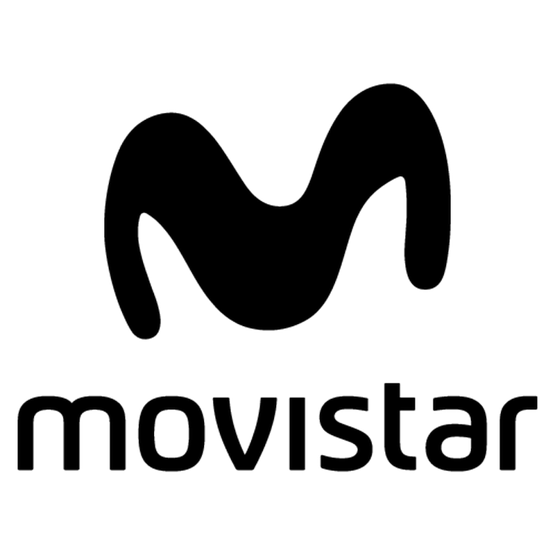 Movistar Logo Sticker