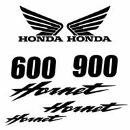 Honda Hornet 600 et 900 Decals set