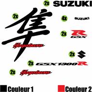 Kit Sticker Suzuki Hayabusa Kanji