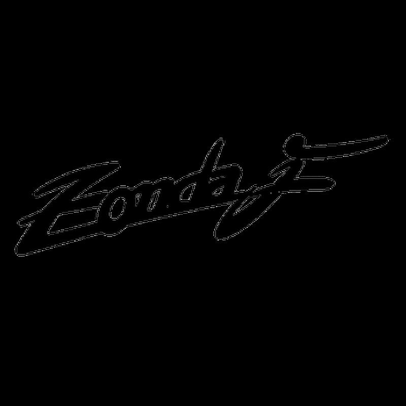 sticker pagani zonda f logo
