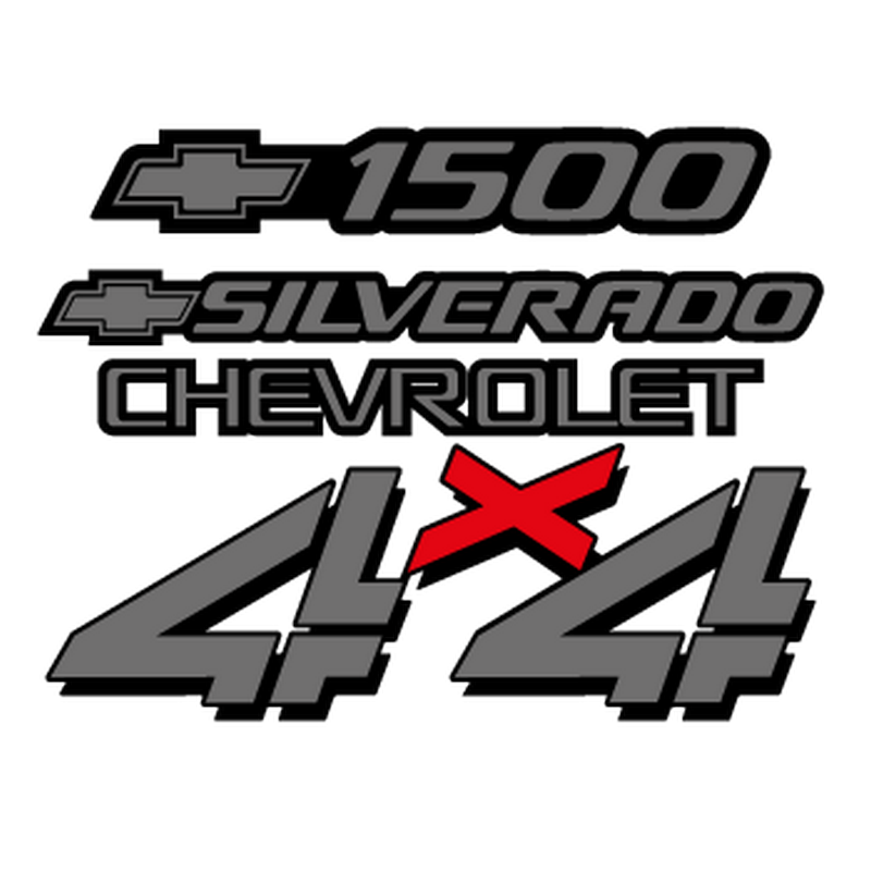 Chevrolet Silverado Logo Decal