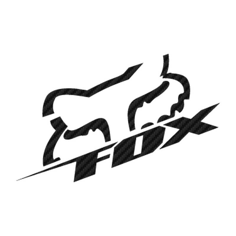 Fox Racing Carbon Decal