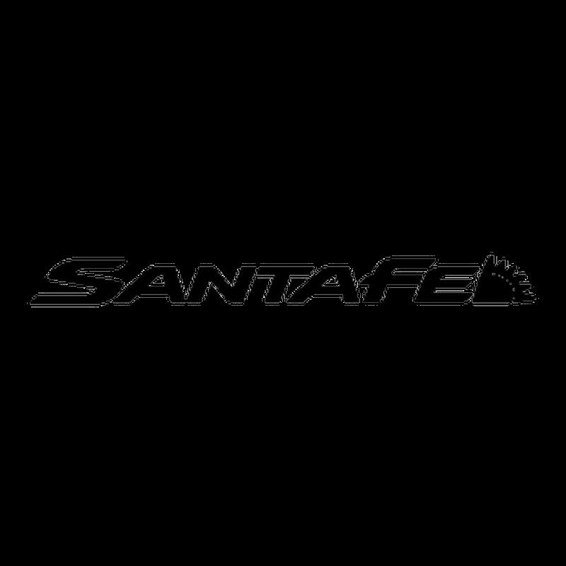 Hyundai Santa Fe Logo Decal