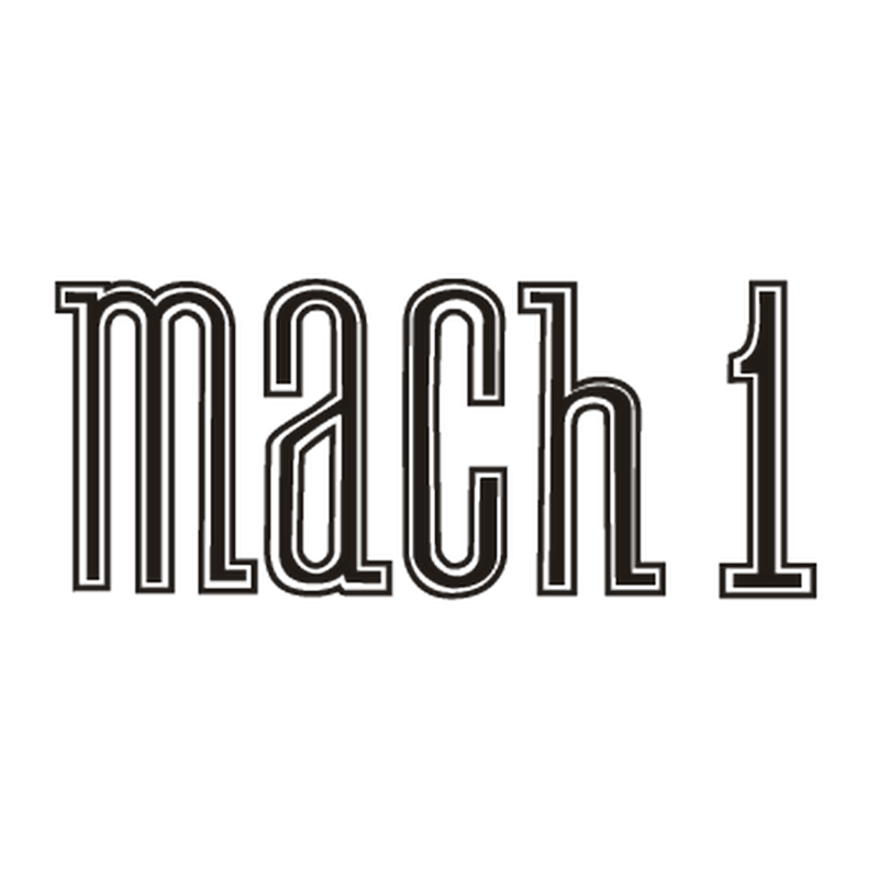 Ford Mustang Mach 1 Logo Decal