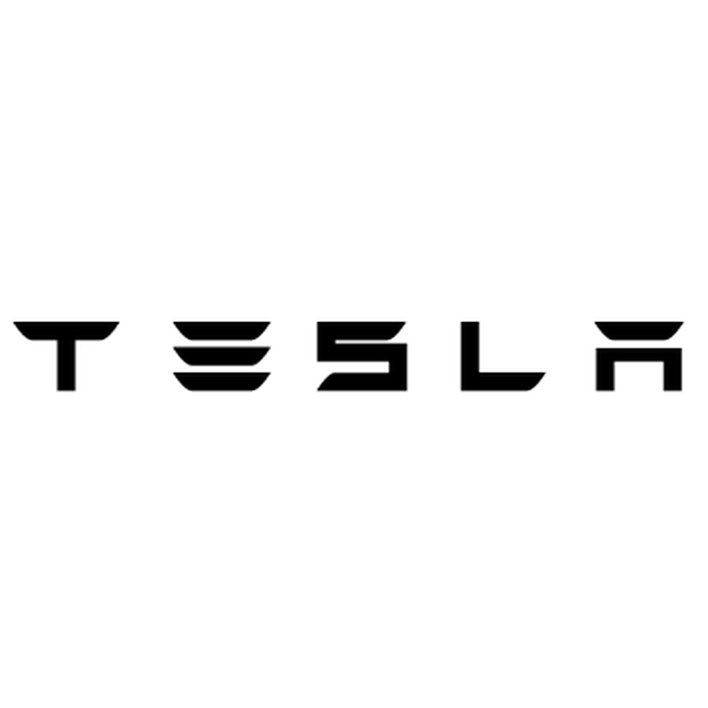 Tesla Logo Decal