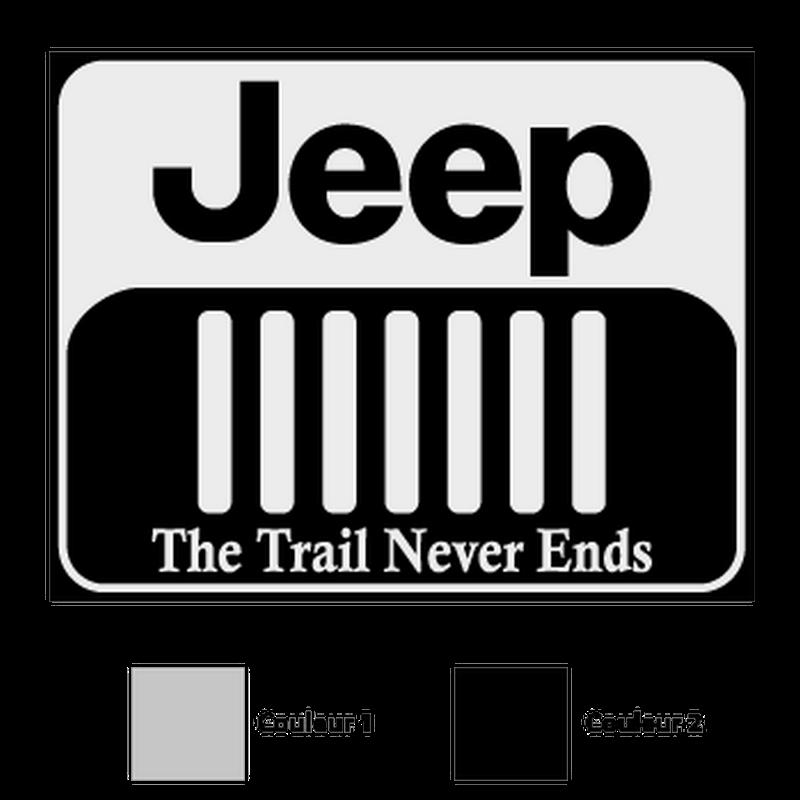 Jeep Logo Decal