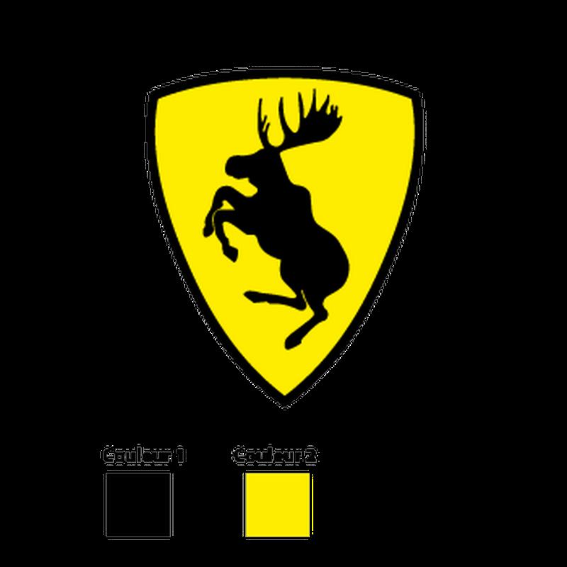 Volvo Prancing Moose Logo Decal