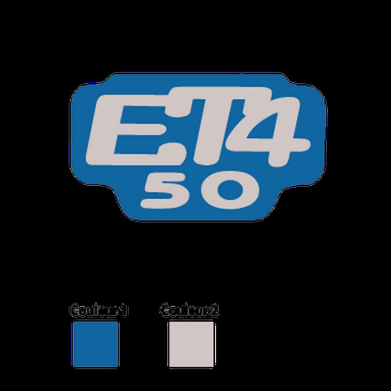 Piaggio vespa et4 50 Logo Decal