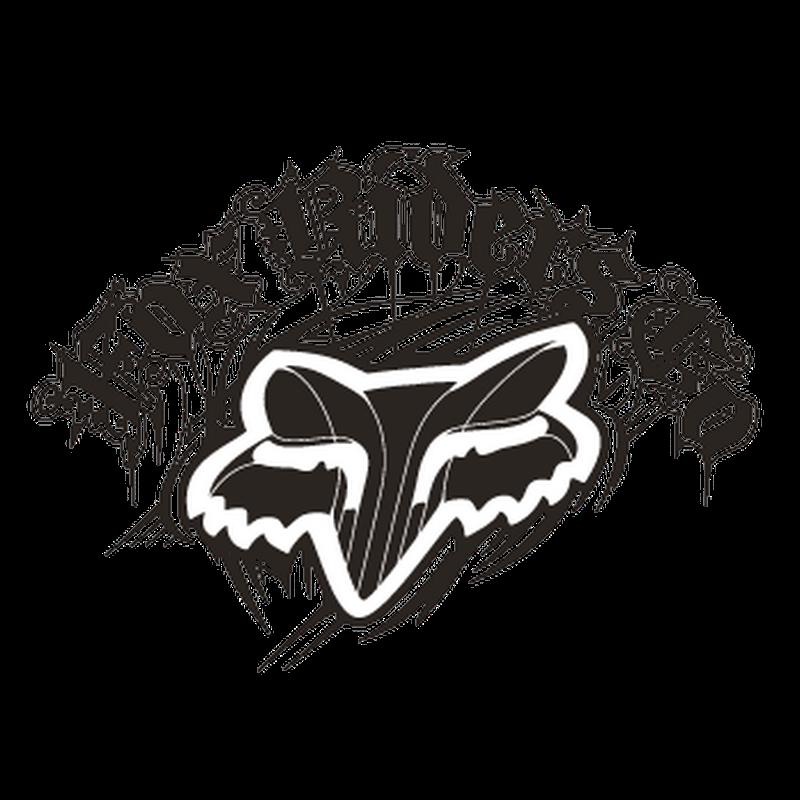 Fox Riders Company Logo Decal