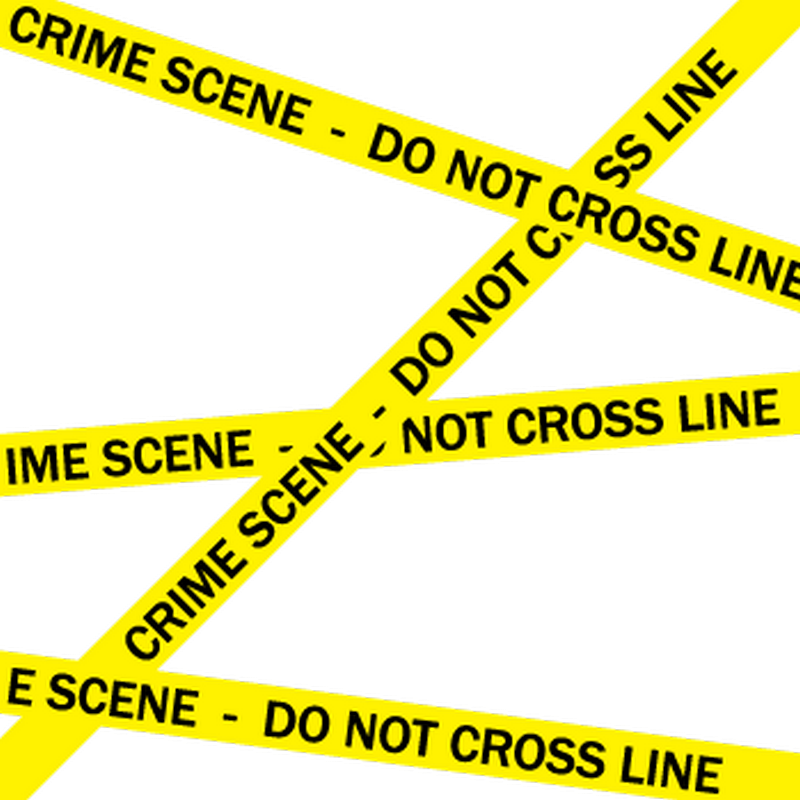 T-Shirt Crime Scene - Do Not Cross Line