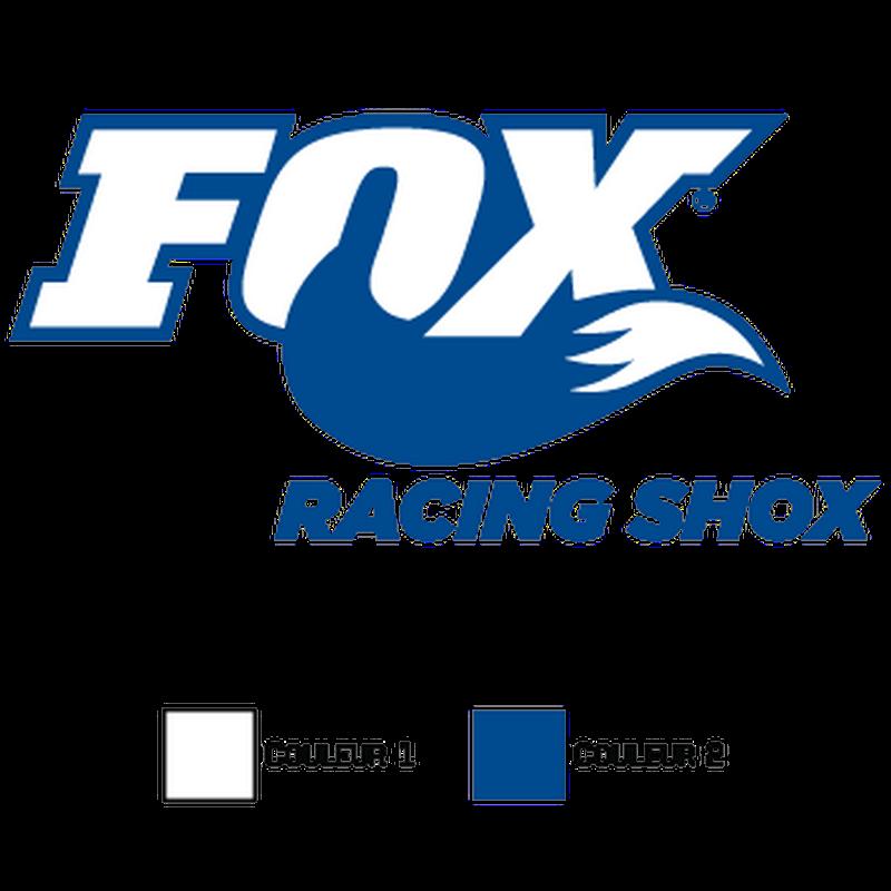 Sticker Fox Racing Shox