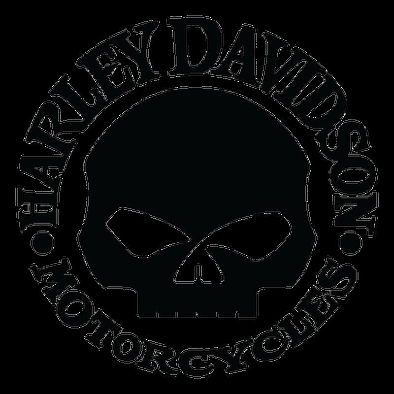 Sticker Harley Davidson Skull ★