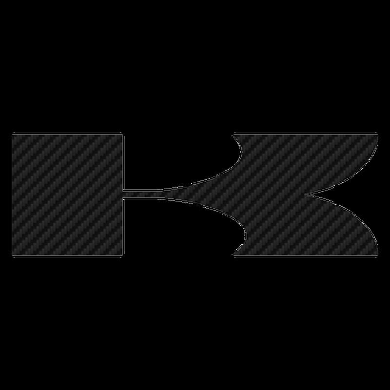 Kawasaki K Carbon Decal