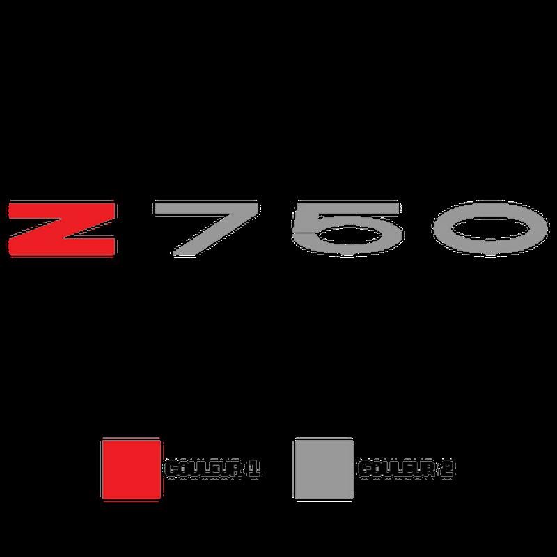 Kawasaki Z750 Decal