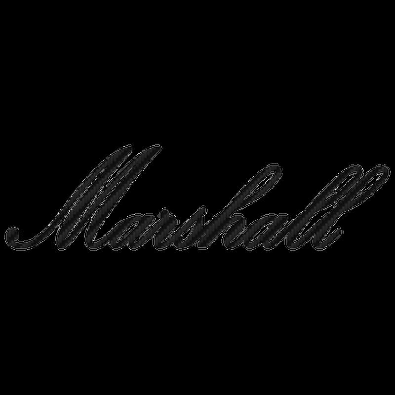 Sticker Karbon Marshall