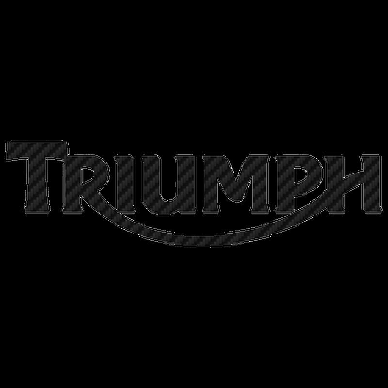 Sticker Carbone Triumph