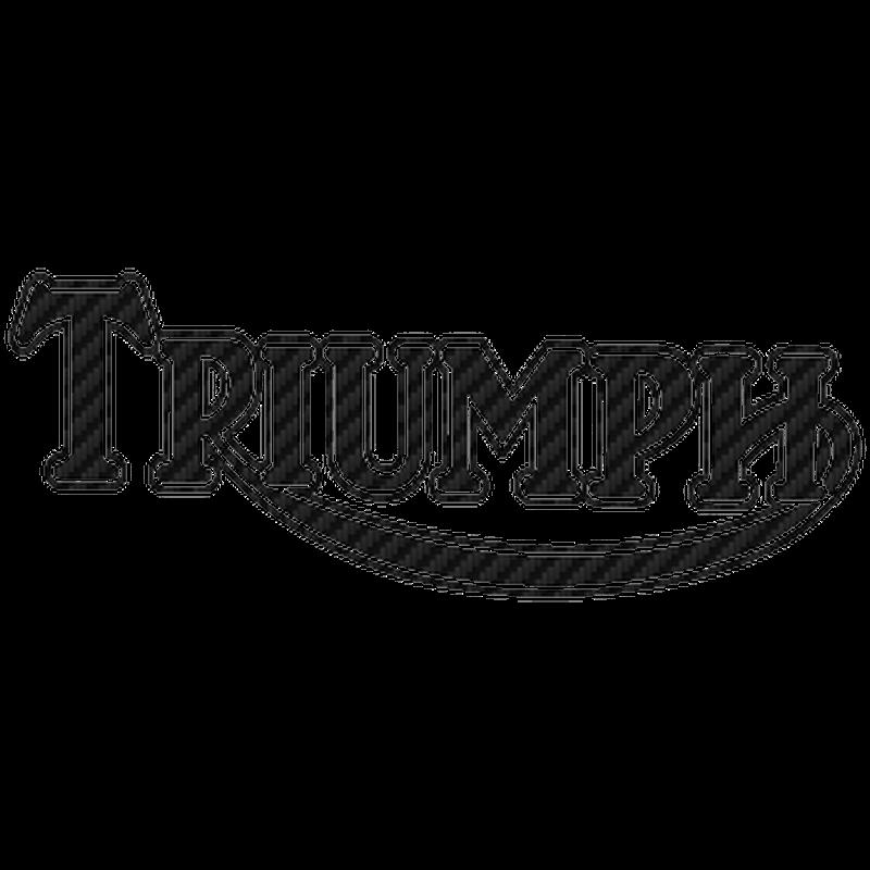 Sticker Carbone Triumph 3