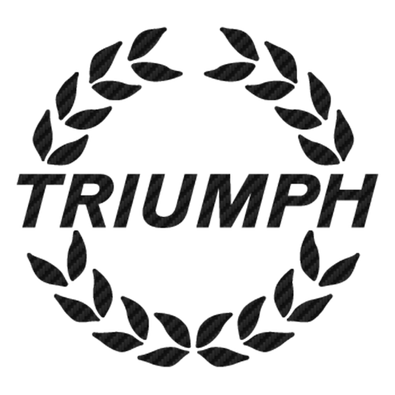 Sticker Carbone Triumph 4