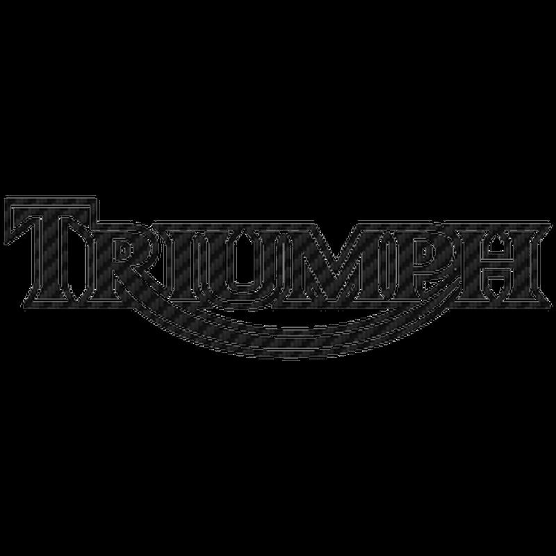 Triumph Carbon Decal 5