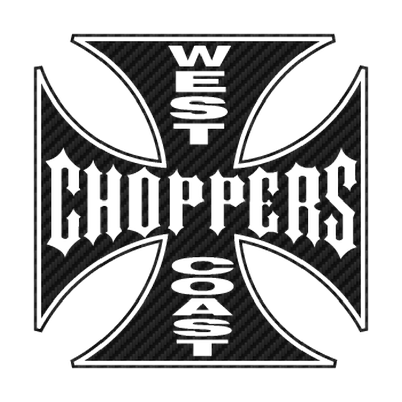 West Choppers Coast Carbon Decal 4