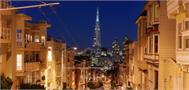 Sticker Déco San Francisco Rue Panoramique