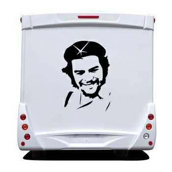 Che Guevara Camping Car Decal