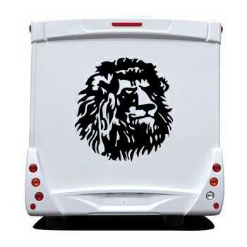 Cameroun Lion Camping Car Decal