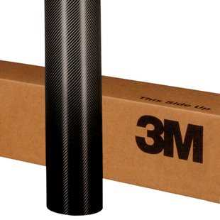 3M Wrap Film - Carbon Fiber Black