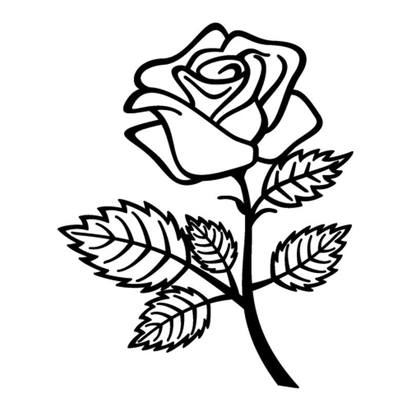 Flower 1  decal
