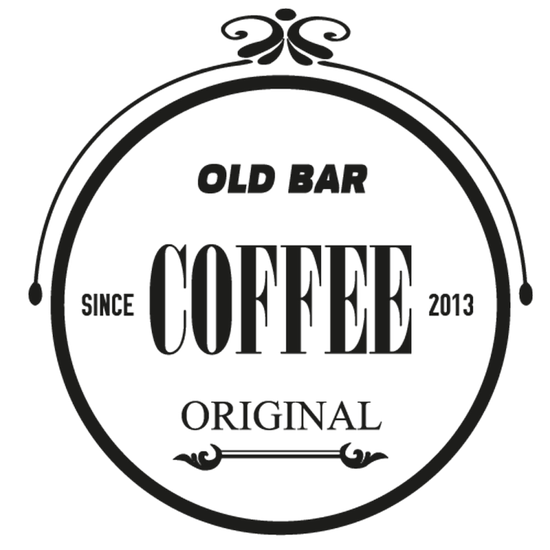 Old Coffee Bar banner decal