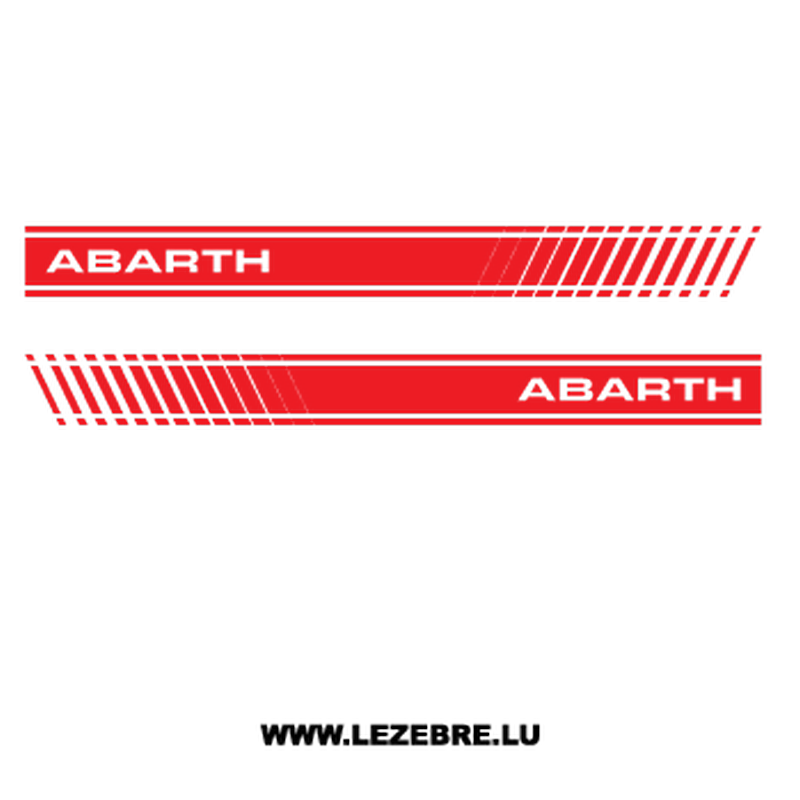 Kit Stickers Fiat Abarth 500
