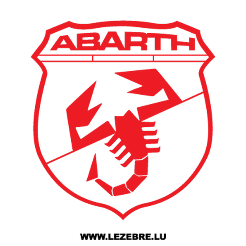 Abarth Logo Decal