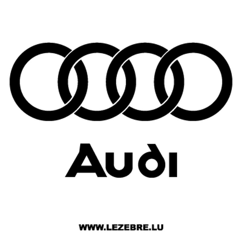 Audi Logo Decal 2