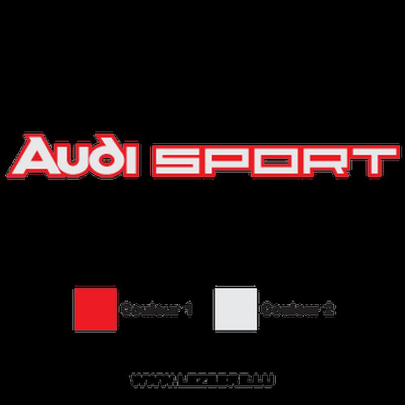 Sticker Audi Sport