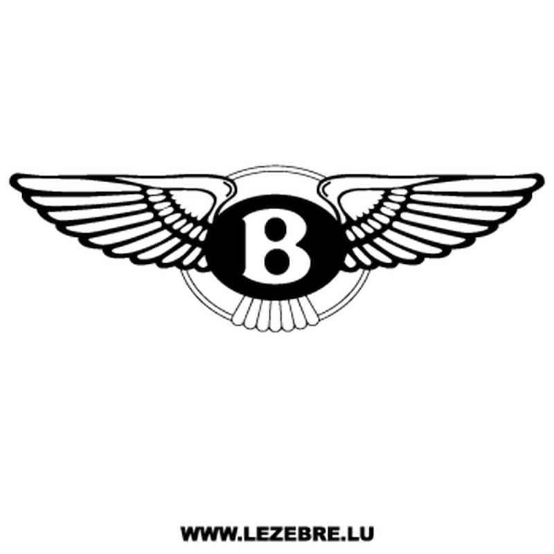 Bentley Logo Decal