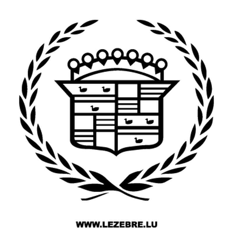 Cadillac Logo Decal 2