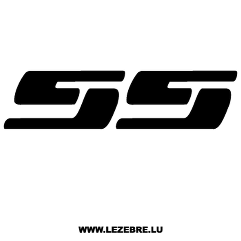 Chevrolet Ss Decal