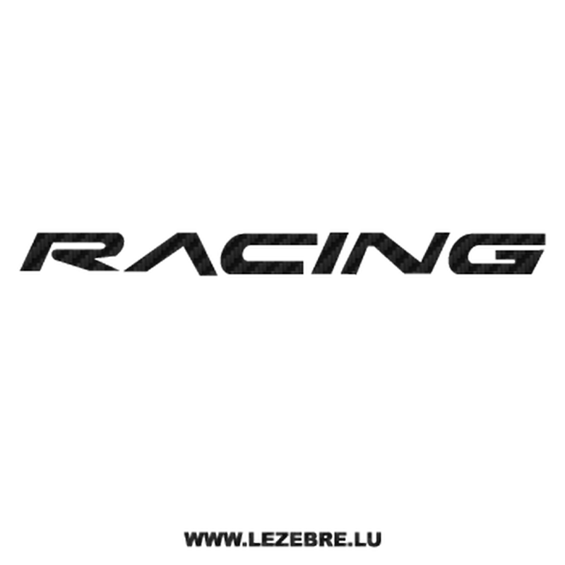 Chevrolet Racing Carbon Decal