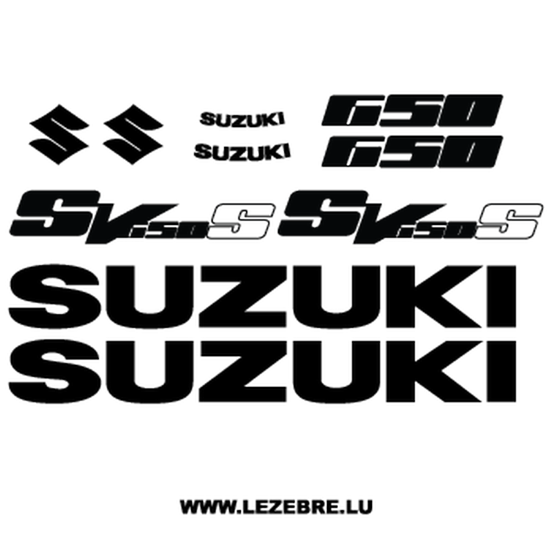 Kit Stickers Suzuki SV650 S