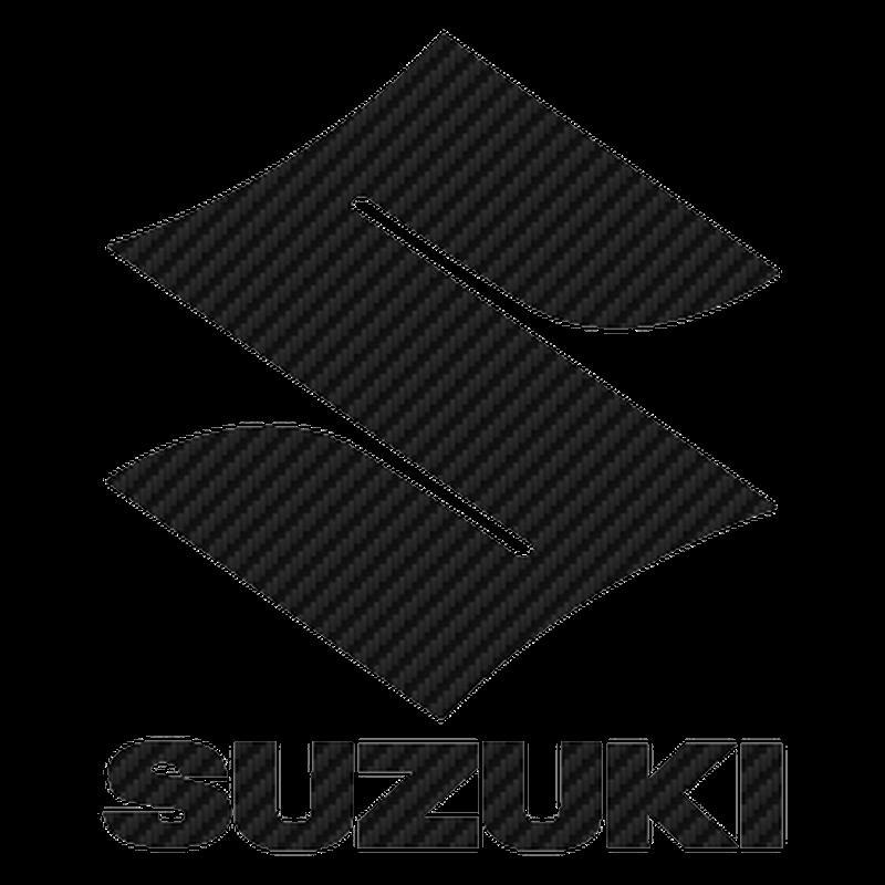Suzuki Logo Carbon Decal 3