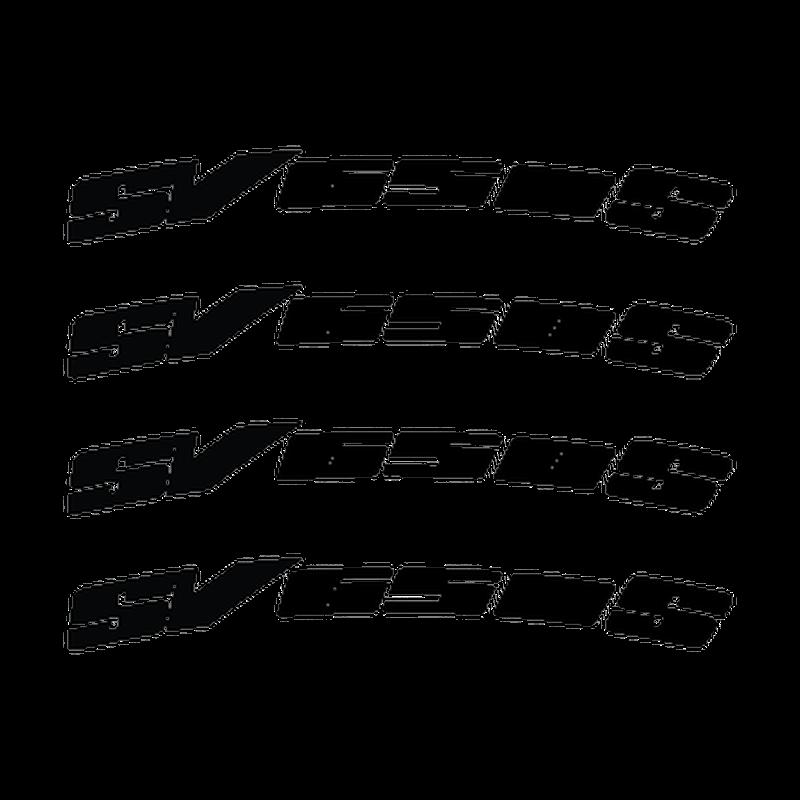 Suzuki SV 650 S rim decals set